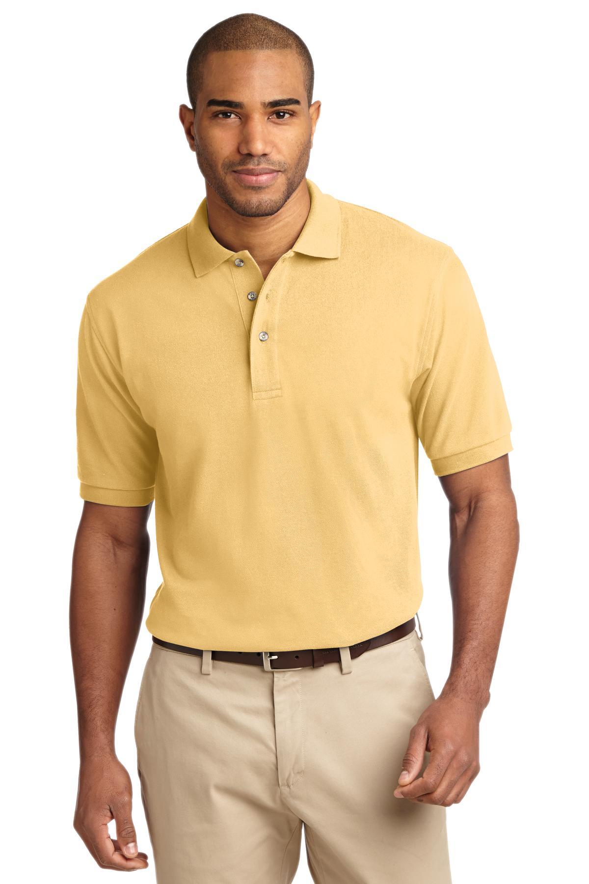 Men's HeavyWeight 100 Combed Cotton Polo Shirt   New Horizon Trading